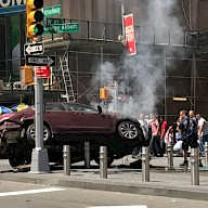 Car Rampage in New York