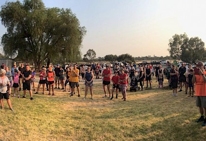 Parkrun success in Kerang